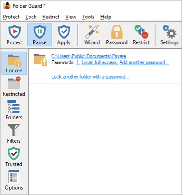 Folder Guard برنامج - برامج اخفاء الملفات و المجلدات : إليك أفضل 10 برامج مجانية