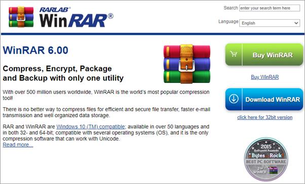 WinRAR برنامج - برامج اخفاء الملفات و المجلدات : إليك أفضل 10 برامج مجانية